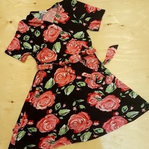 2 for $25 - Magazine Roses' Dress, Size XL